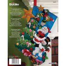 bucilla seasonal felt kits the finishing touch