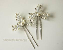 wedding hair pins bridal hair pins etsy
