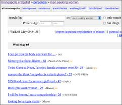 Seeking On Craigslist Advocates For Human Rights Declines Donation From Craigslist Fund