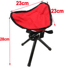 camtoa outdoor hiking camping fishing bbq folding chair with 3
