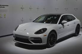 white porsche panamera porsche u0027s panamera hybrid wagon is an impressive piece of tech