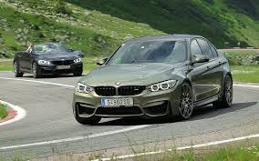 green bmw m4 high altitude test drive