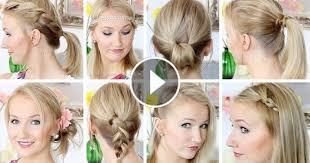 Hochsteckfrisuren Einfach Mittellang by 10 Frisuren In 8 Minuten Schnell Einfach Mittellanges Haar