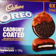 chocolate cadbury coated oreos popsugar food
