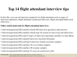 Resume For Flight Attendant Top 14 Flight Attendant Interview Tips 1 638 Jpg Cb U003d1427946491