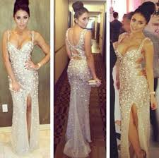 sexiest new years dresses buy diyouth new year spaghetti beading split prom
