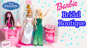wedding dress up doll wedding dress up boutique playset with disney frozen
