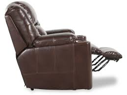 Ashley Swivel Chair ashley paramount brindle theater chair with power mathis