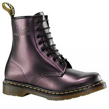 womens boots size 9 uk dr martens 1460 purple smooth womens boots size 9 amazon co uk