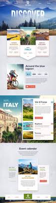 website design ideas 2017 trego touring guided bicycle tours ui design concept and visual