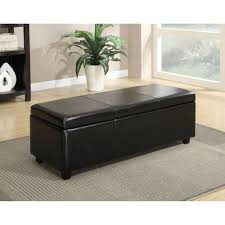 Large Storage Ottoman Bench Bed Bench Leather Ottoman Table Ottoman Table Footstool Bench
