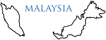 map of malaysia terrain area and outline maps of malaysia