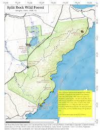 Adirondack Mountains Map Map Split Rock Wild Forest U2013 Andy Arthur Org