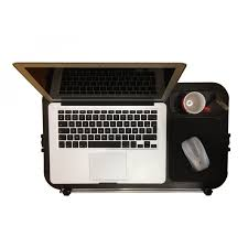 Lap Desk With Mouse Pad Aluminum Laptop Table With Mouse Pad Cup And Pen Holder