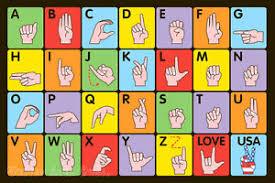 Abc Area Rug 4 3 X 6 6 Abc Area Rug Cool Sign Language Talk Educational