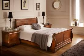 Platform Sleigh Bed Bedroom Wooden Material Of Sleigh Beds For Inspiring Bed Design
