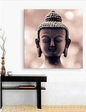 Decorative Buddha Head Modern Buddha Head Painting Promotion Shop For Promotional Modern