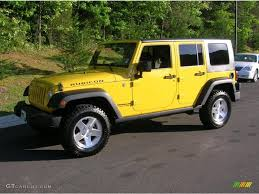 wrangler jeep 2009 2009 detonator yellow jeep wrangler unlimited rubicon 4x4
