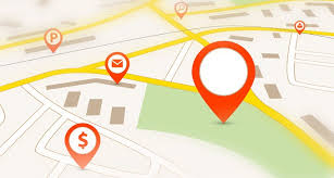 navigation map how to view maps location history