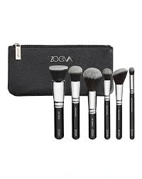 vegan face professional brush set by zoeva
