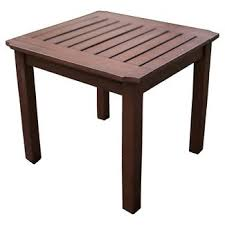 Patio Table Wood Patio Side Table Patio Tables Target