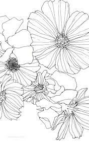 the 25 best flower drawings ideas on pinterest geometric tattoo