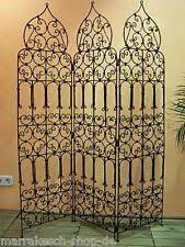 moroccan oriental mediterranean garden room divider screen