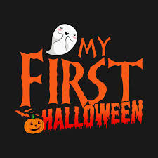 my first halloween funny baby halloween shirts gifts on october 31