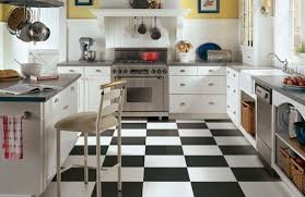 chic kitchen flooring beautiful kitchen decoration ideas with
