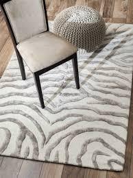 flooring contemporary zebra print rug with modern look