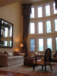 High Ceiling Curtains by High Ceiling Living Room Curtains Home Design Ideas