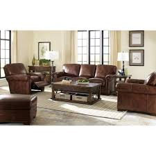 leather sofa with nailheads leather sofa with rolled arms and nailheads by craftmaster wolf