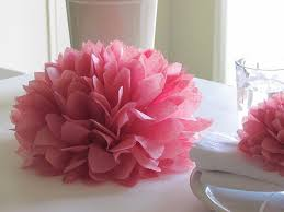 9 u0027 u0027 tissue paper flower centre pieces love u0026 happiness