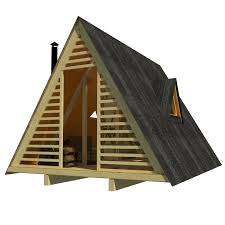 small a frame cabin plans a frame shed plans