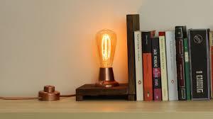 edison bulb bookends lamp youtube