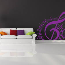 musical note wall stickers iconwallstickers co uk treble clef musical notes circle musical notes instruments wall stickers decal
