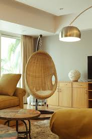 swing rattan chair in india living room before u0026 after chuzai