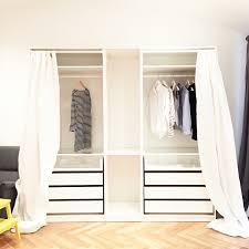 Schlafzimmer Mit Begehbarem Kleiderschrank Pax Wardrobe Curtain Google Search Brooklyn Closet Room
