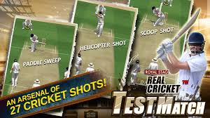 real cricket test match android apps on google play