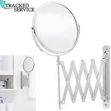 wall mounted extendable mirror bathroom extending wall mounted mirror bathroom cosmetic shaving mirror