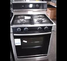 Gas Stainless Steel Cooktop Bosch Stainless Steel Dual Fuel Gas Range