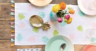 make your own table runner homestyle making make your own table runner