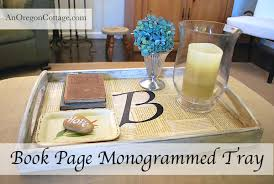 monogramed tray monogram book page tray s1 jpg