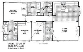 Double Porch House Plans Bedroom Mobile Home Floor Plans For Double Wide Inspirations 5 Of