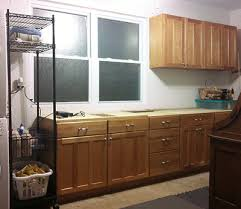 potential second hand kitchen cabinets pictures reuse old kitchen cabinets in garage to create a workbench with
