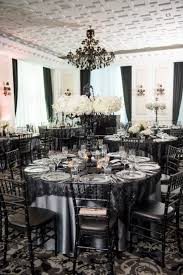 elegant black u0026 white wedding at the trump hotel the social rose
