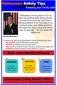 halloween safety tips cattaraugus county