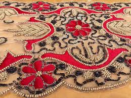 hand beaded table runners beaded table runner christmas best table decoration