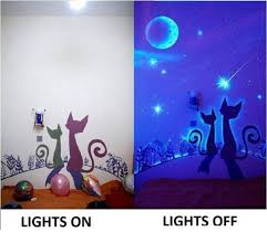 glow in paint how to diy glow in the paint wall murals