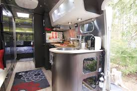 Camper Trailer Interior Ideas Peek Inside Our Airstream Just 5 More Minutes